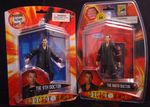 Comparing 9th Doctor Figures: Right: San Diego Comic Con exclusive, Left: less posable figure
