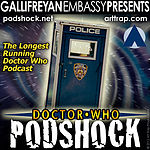 "Doctor Who: Podshock Cover Art ""NYC Style"""